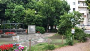 築地川公園(デイキャンプ場)