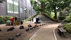 あかつき公園(冒険広場)