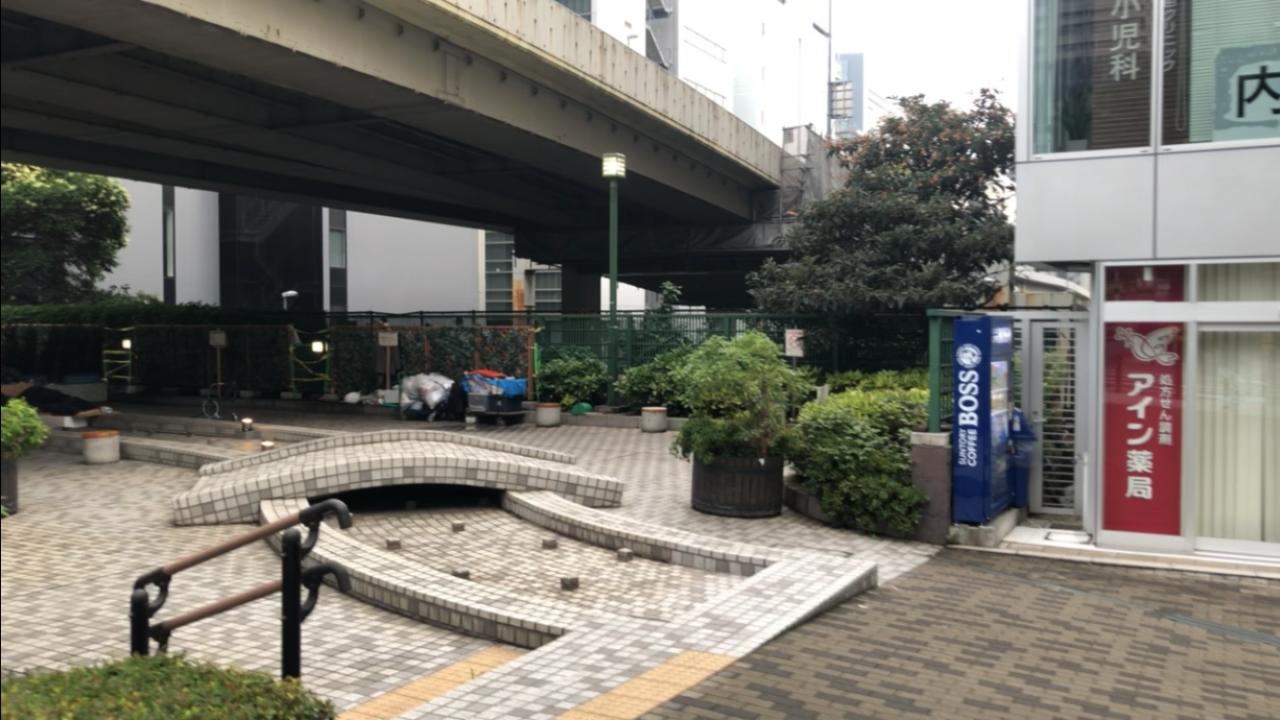 楓川弾正橋公園